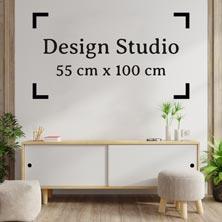 Design Studio 55cm 100cm standaard kleur muursticker