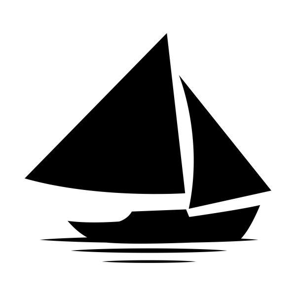 Zeilschip muursticker